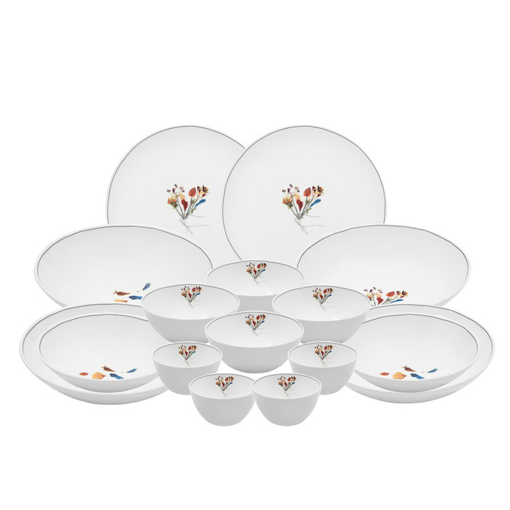 [Bouquet of Flowers] 16 Piece Home Set