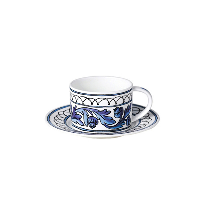 [Twig New York] Heritage Blue Bird Cup & Saucer