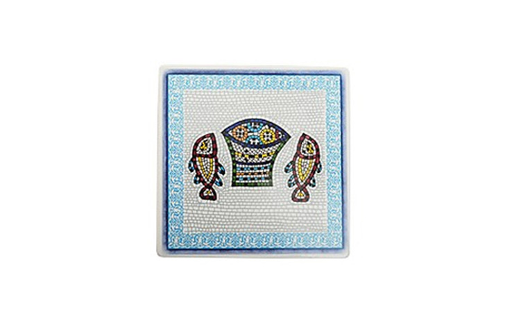 [Five Loaves and Two Fish] Trivet (Blue)