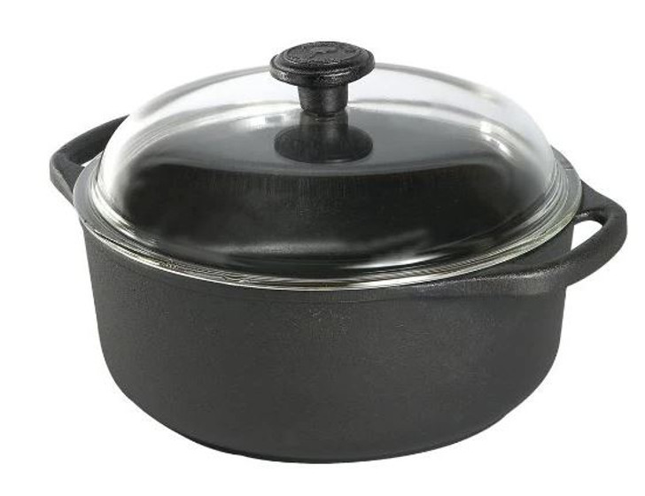 Skeppshult Casserole 4L with glass lid