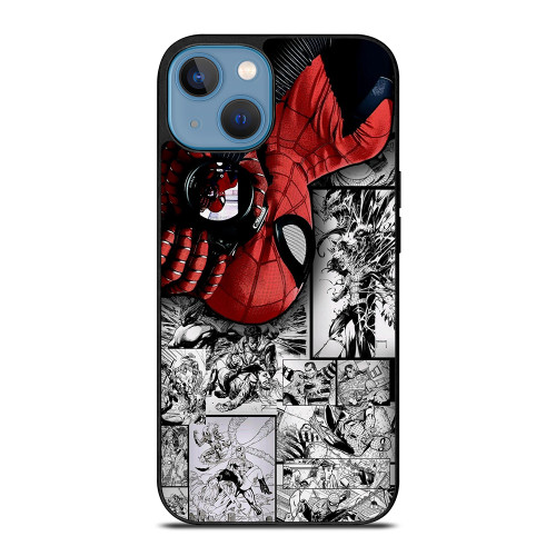 MARVEL SPIDERMAN POTRAIT COMIC iPhone 13 Case