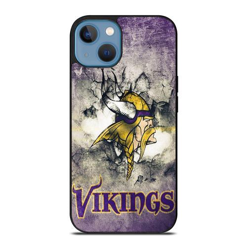 MINNESOTA VIKINGS GRUNGE LOGO iPhone 13 Case