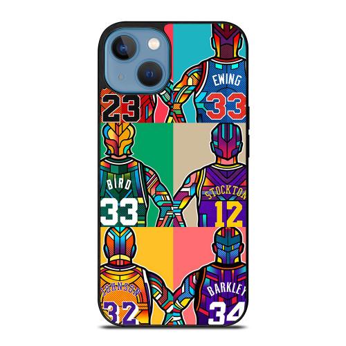 NBA LEGENDS ART iPhone 13 Case
