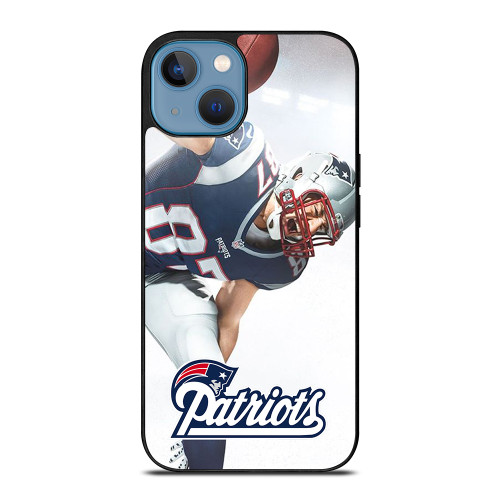 ROB GRONKOWSKI NEW ENGLAND PATRIOTS iPod Touch 6 iPhone 13 Case
