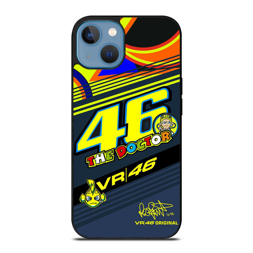 VALENTINO ROSSI VR 46 MOTO GP iPhone 13 Case