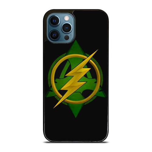 ARROW VS THE FLASH LOGO iPhone 12 Pro Max Case