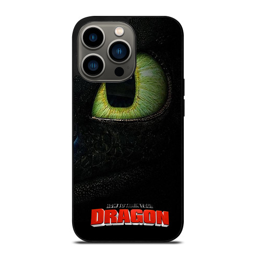 HOW TO TRAIN YOUR DRAGON MOVIE 3 TOOTHLESS iPhone 13 Pro Case