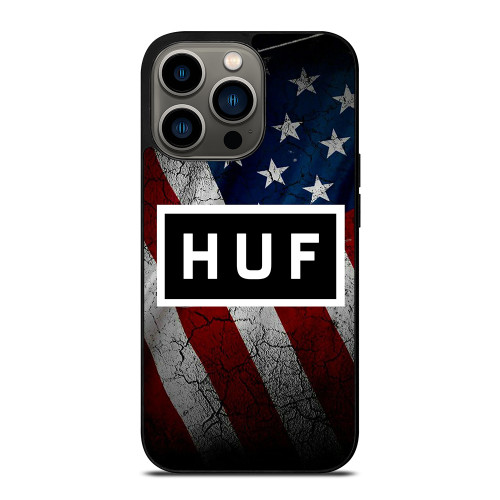 HUF AMERICAN FLAG iPhone 13 Pro Case