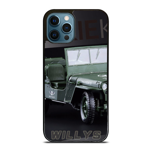 JEEP WILLYS TRUCK iPhone 12 Pro Max Case
