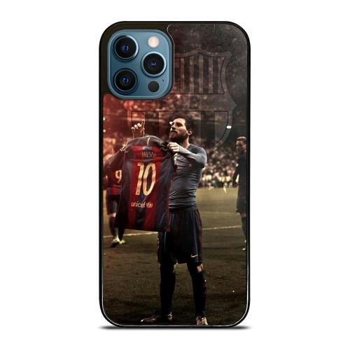 LEO MESSI CLASICO CELEBRATE 1 iPhone 12 Pro Max Case