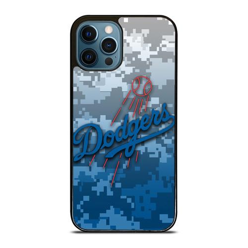 LOS ANGELES DODGERS CAMO iPhone 12 Pro Max Case