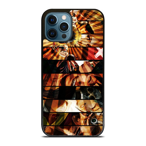 LUFFY ONE PIECE CHARACTER iPhone 12 Pro Max Case