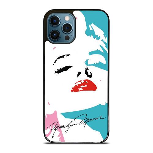 MARILYN MONROE SIGNATURE iPhone 12 Pro Max Case