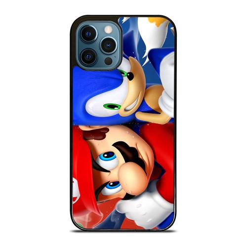 MARIO VS SONIC iPhone 12 Pro Max Case