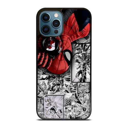 MARVEL SPIDERMAN POTRAIT COMIC iPhone 12 Pro Max Case
