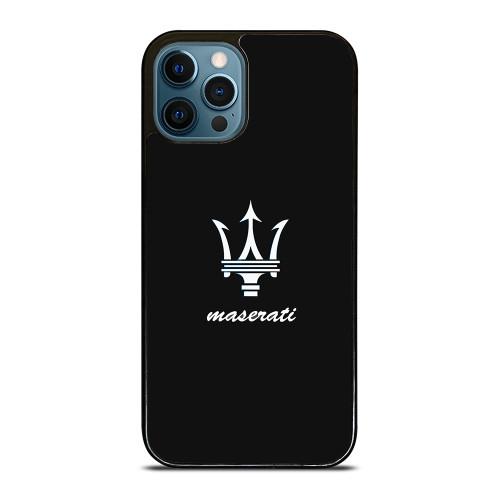 MASERATI BLACK iPhone 12 Pro Max Case