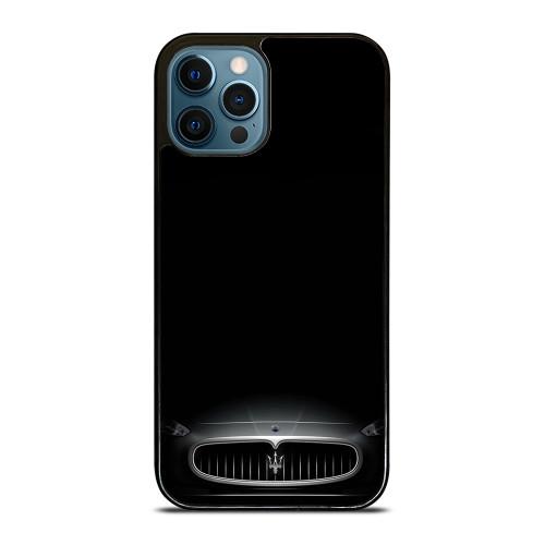 MASERATI LOGO FRONT ENGINE HOOD iPhone 12 Pro Max Case