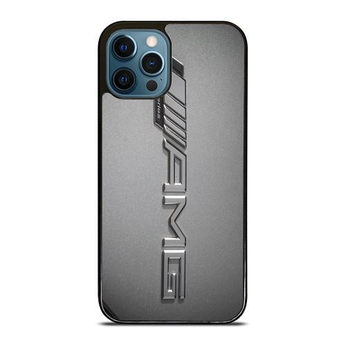 MERCEDES AMG LOGO CHROME EMBLEM iPhone 12 Pro Max Case