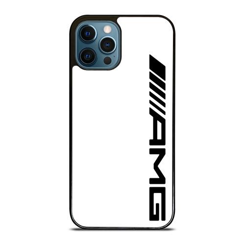 MERCEDES AMG LOGO WHITE iPhone 12 Pro Max Case