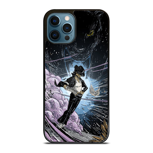 MICHAEL JACKSON CARTOON ART iPhone 12 Pro Max Case