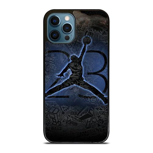 MICHAEL JORDAN AIR JORDAN ART iPhone 12 Pro Max Case