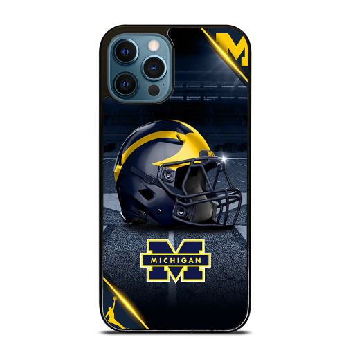 MICHIGAN WOLVERINES FOOTBALL 3 iPhone 12 Pro Max Case