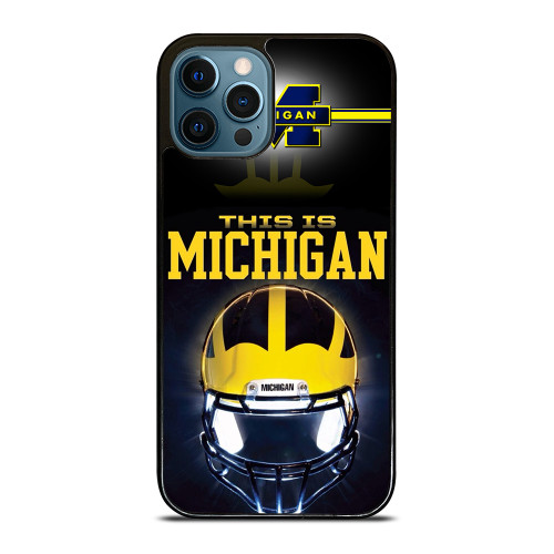 MICHIGAN WOLVERINES FOOTBALL iPhone 12 Pro Max Case
