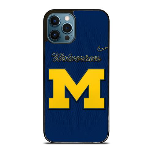 MICHIGAN WOLVERINES GO BLUE iPhone 12 Pro Max Case