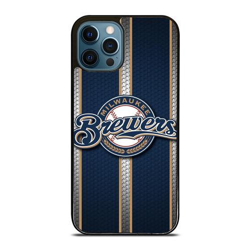 MILWAUKEE BREWERS MLB NEW LOGO iPhone 12 Pro Max Case