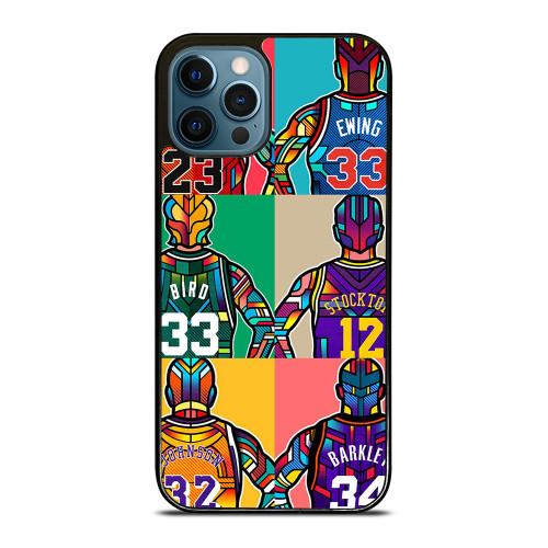 NBA LEGENDS ART iPhone 12 Pro Max Case