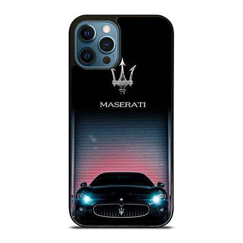 NEW MASERATI Logo iPhone 12 Pro Max Case