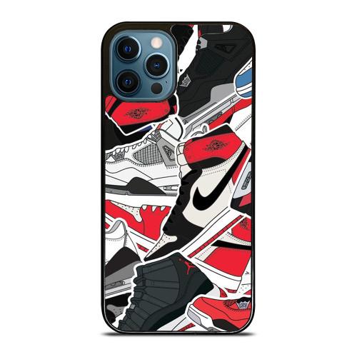 NIKE AIR JORDAN SHOES ART iPhone 12 Pro Max Case
