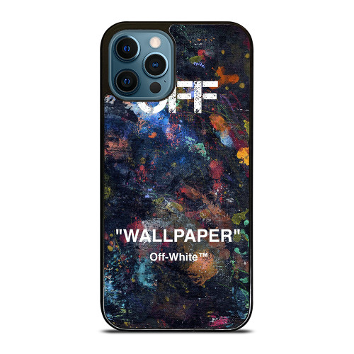 OFF WHITE HYPEBEAST iPhone 12 Pro Max Case