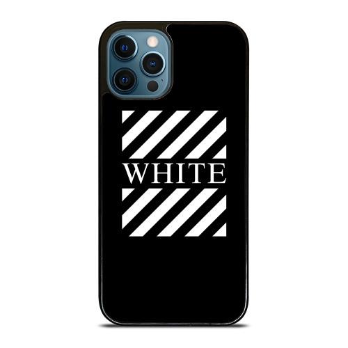 OFF WHITE LOGO CENTER STRIPE iPhone 12 Pro Max Case