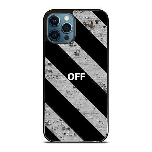 OFF WHITE WALL TEXTURE iPhone 12 Pro Max Case