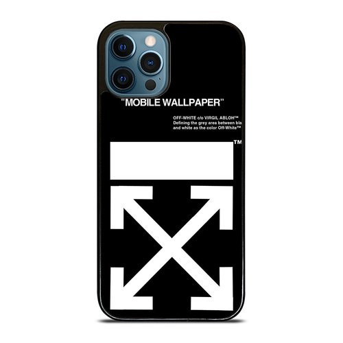 OFF WHITE iPhone 12 Pro Max Case