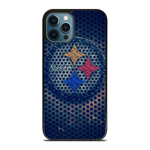 PITTSBURGH STEELERS RUSTY CIRCLE LOGO iPhone 12 Pro Max Case