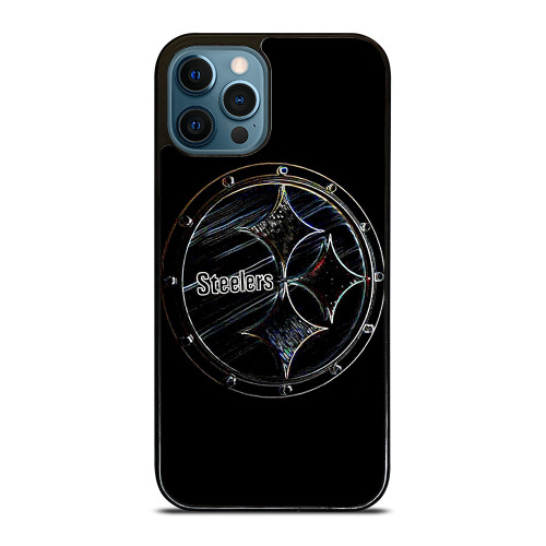 PITTSBURGH STEELERS RUSTY LOGO iPhone 12 Pro Max Case