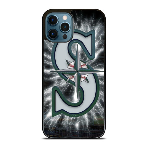 SEATTLE MARINERS MLB LOGO iPhone 12 Pro Max Case
