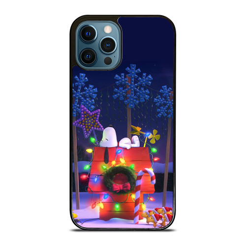 SNOOPY CHRISTMAS iPhone 12 Pro Max Case