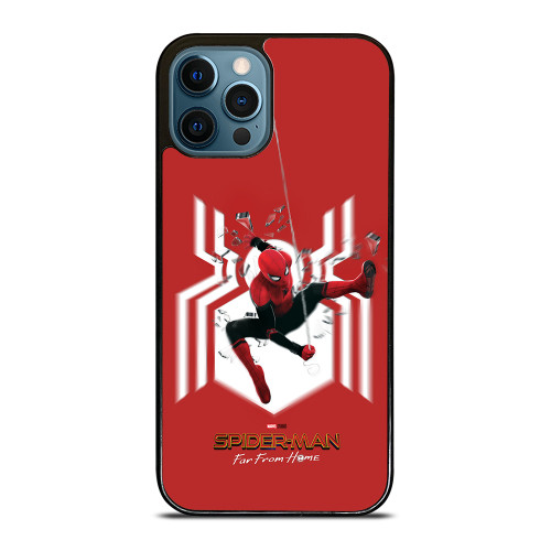 SPIDERMAN FAR FROM HOME LOGO RED ACTION iPhone 12 Pro Max Case