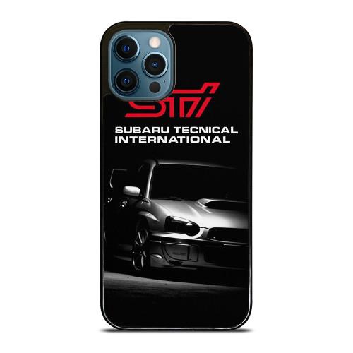 SUBARU IMPREZA WRX STI LOGO iPhone 12 Pro Max Case