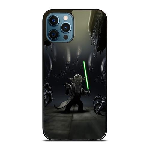 YODA VS ALIENS iPhone 12 Pro Max Case