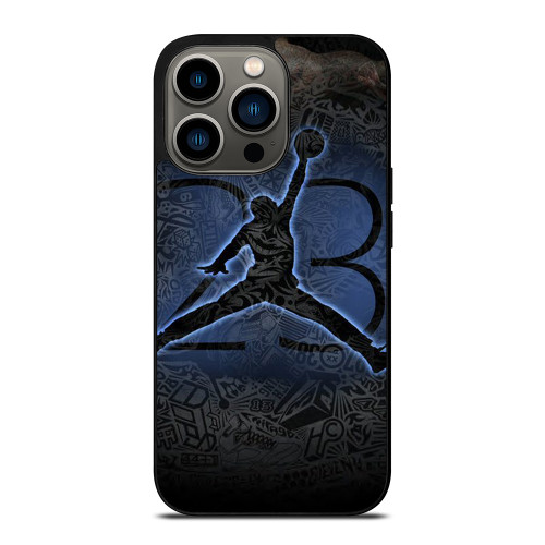 MICHAEL JORDAN AIR JORDAN ART iPhone 13 Pro Case