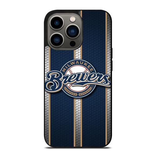 MILWAUKEE BREWERS MLB NEW LOGO iPhone 13 Pro Case