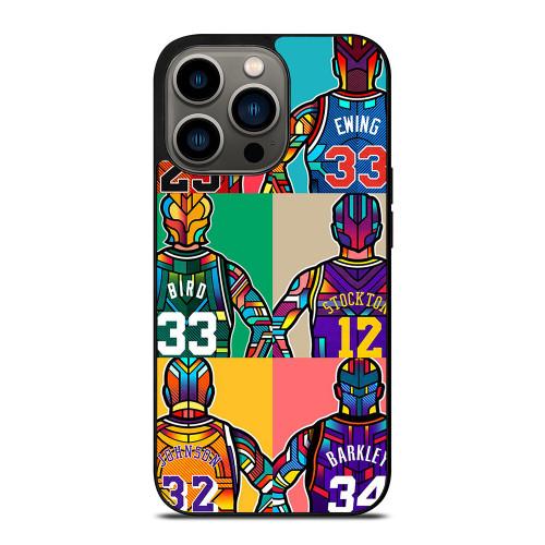 NBA LEGENDS ART iPhone 13 Pro Case