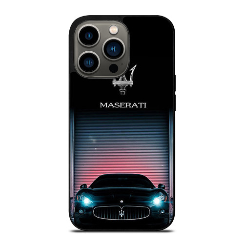 NEW MASERATI Logo iPhone 13 Pro Case