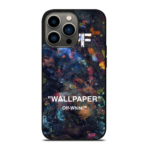OFF WHITE HYPEBEAST iPhone 13 Pro Case