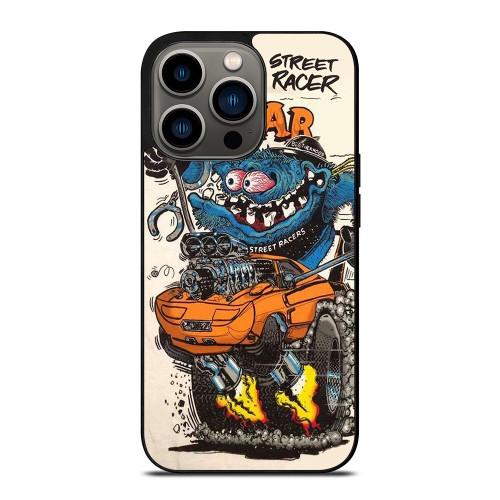 RAT FINK MOPAR STREET RACERS iPhone 13 Pro Case