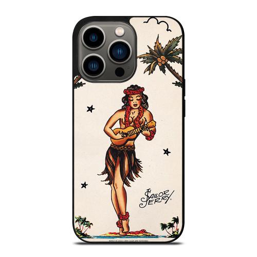 SAILOR JERRY S HULA GIRL 2 iPhone 13 Pro Case